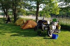 Campingplatz in Kungläv / campsite in Kungläv......