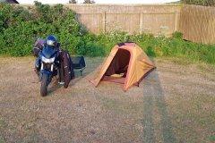 Campingplatz in Hirtshals, nur 5 Minuten von der Fähre.Campsite in Hirtshals, only 5 minutes fromm the ferry