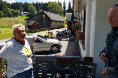 Ein Mittagsstop in der Nähe von Triberg. / Stop around noon, close to Triberg.