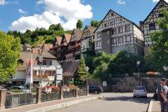 Altes Städtchen von Außen.... / Old village from the outside.....