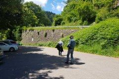 Auf dem Weg zu den Allerheiligen Wasserfälle bei Oppenau. / On our way to the waterfalls of Allerheilige close to Oppenau.