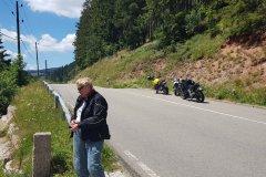Letzter Stop an der Linachtalsperre bei Vöhrenbach. / Last stop at the Linach dam near Vöhrenbach.