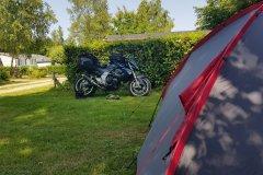 Schöner kleiner Campingplatz am Ende der Welt. / Nice little campground at the end of the world.
