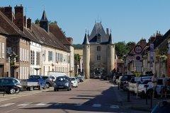 Ein Bild, das gemacht werden musste, in Villeneuve-sur-Yonne. A picture that had to be taken, in Villeneuve-sur-Yonne.