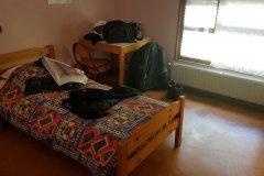 Mein setup für heute. Für eine handvoll Euros mehr, konnte ich ein Zimmer bekommen. / My setup for today. I got a room,for a couple of Euros more.