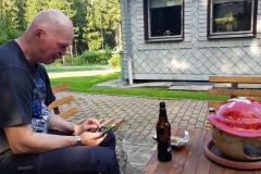 Ein Bier geht immer, nach der Tour. IT's always 5 o'clock somewhere.
