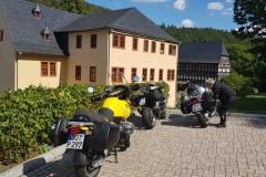 Die Klosterruine in Paulinzella./ The monastry ruins in Paulinzella.
